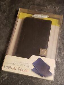 Samsung Leather Pouch Galaxy S II - Black