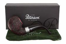 Peterson Sherlock Holmes Le Strade Rustic Tobacco Pipe Fishtail