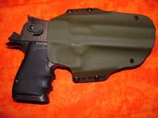 HOLSTER OD GREEN FITS DESERT EAGLE MARK 19 XIX 357 44 MAG 50 AE WITH  LOWER RAIL