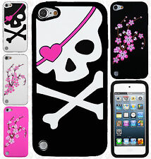 For iPod Touch 6 6th Gen Rubber SILICONE Soft Gel Skin Case Cover + Screen Guard
