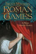 Roman Games: A Plinius Secundus Mystery-ExLibrary