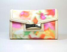 Kate Spade Clutch Bag Adelaide Carroll Park Fabric/Leather Trim