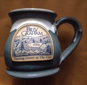 2014 BILLY GRAHAM TRAINING CENTER COVE COFFEE MUG, DENEEN POTTERY, ASHEVILLE, NC