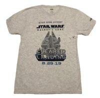 Star Wars T-Shirt Small Disney World Park Galaxy's Edge Black Spire Outpost