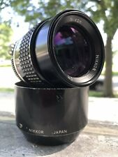 Nikon Nikkor AI-S AIS 105mm f/2.5 For F Mount SLR Made in Japan