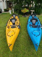 2 Hobie Mirage Series / Oasis Tandem Kayaks + Trailer & Accessories