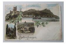 litho weinrestaurant bellinghausen / beschädigt / nicht gelaufen
