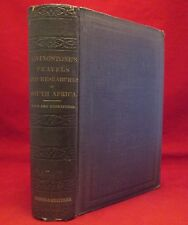 TRAVELS & RESEARCHES IN AFRICA David Livingstone 1876 RARE Exploration ANTIQUE
