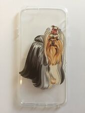 iPhone 6 6s Yorkshire Terrier Dog Case Cover Soft TPU UK SELLER Puppy