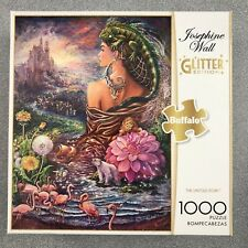 "Josephine Wall (Glitter Edition)  ""The Untold Story"", 1000 Piece Jigsaw Puzzle."
