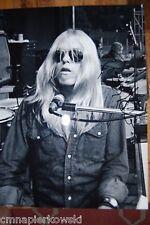 Gregg Allman signed 11x14 Allman Brothers Band-
