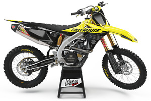 Suzuki RMZ 250 2004 2005 2006 04 05 06 Graphics Kit Motocross Decals MX Dirtbike