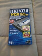 Maxell Vcr Head Clener Tape Vp-100