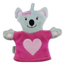 Baby Waschlappen Mädchen Bärchen rosa Waschlappen Badelappen Koala Bärchen