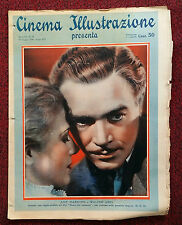Cinema Illustrazione 1936 XI n° 24 Ann Harding e Walter Abel   23/12