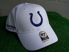 Bridgestone Golf Indianapolis Colts White Golf Hat Cap NFL Team Adjustable NEW