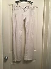 CITIZENS OF HUMANITY A91 White Boot Cut Jeans Size 28 (29x30)