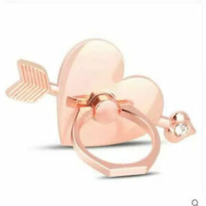 LiliDreamStore 360 Rotating Heart Cell Phone Ring Stand Holder-Cupid's Arrow,Luv