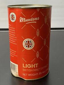 Muntons - Light Liquid Malt Extract (LME) - 1.5kg