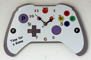 Games Console Wall Clock - Can be Personalised