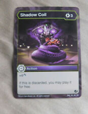 BAKUGAN Battle Brawlers Battle Planet SHADOW COIL  Action Card 46_RA_BB
