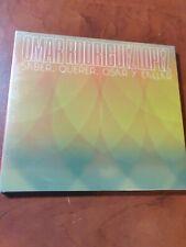 Omar Rodriguez Lopez – Saber, Querer, Osar Y Callar , Brand New CD