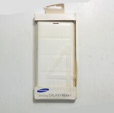 New OEM Samsung Flip Wallet White Case For Samsung Galaxy Note 4
