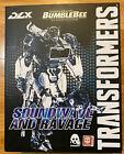 Threezero 3A Transformers Soundwave DLX Diecast Figure Bumblebee Movie For Sale