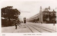 King Cross Road Halifax Tram unused  RP old pc WHS & S