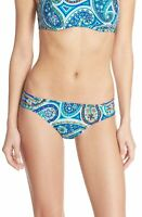 Trina Turk 145722 Womens Paisley Shirred Side Hipster Bikini Bottom Size 6