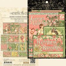 "GRAPHIC 45 ""GARDEN GODDESS""  JOURNALING & EPHEMERA CARDS  32PCS SCRPJACK'S PLACE"