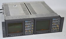 Tektronix 1730 Waveform Monitor & 1720 Vector Scope *Used, In Rack Mount*