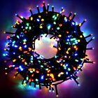 Catena Serie Luci LED di Natale da Interno Esterno Natalizie per Albero Addobbi