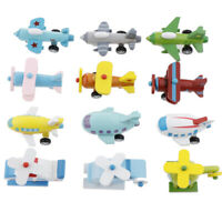12 x Wooden Airplanes Plane Aeroplane Children Toy for Children Boys Girls