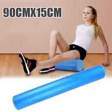 90x15cm Eva Physio Foam AB Roller Yoga Pilates Exercise Back Home Gym Massage