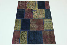 patchwork moderne Délavé Used Look PERSAN TAPIS tapis d'Orient 2,40 x 1,70