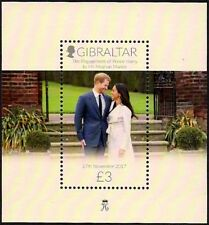 GIBRALTAR 2018 - THE ENGAGEMENT OF PRINCE HARRY TO Ms MEGHAN MARKLE, S/S - MNH