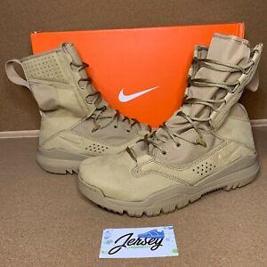 "Nike Special Field Boot Gen 2 8"" Desert Khaki Size 10-12 AO7507-200"