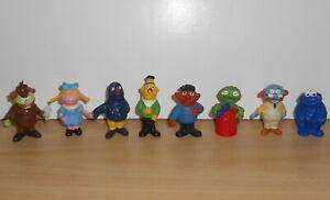 SESAME STREET Rue Sésame Figure Figurine PVC Set Muppets 1970's