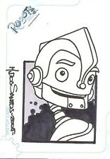 Robots the Movie Sketch Card 462/489 by Mark Dos Santos from Inkworks 2005