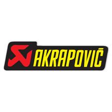 Akrapovic Genuine Decal Sticker MOTO GP Superbike Dirt Motocross Xtreme