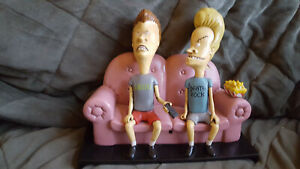 Beavis & Butthead TV Talkers on the couch Remote Conrtol Activated 1996