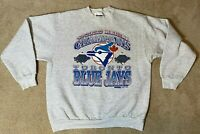 Toronto Blue Jays 1993 World Series Champions Sweatshirt- Mens XL Vintage