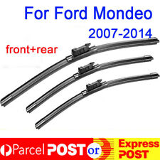Windscreen Wiper blades for FORD MONDEO 2007-2014 Pair Front + Rear