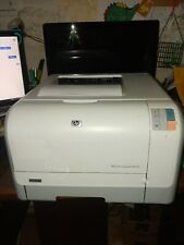 HP LaserJet CP1215 Workgroup Laser Printer w/Toner, working but with an issue