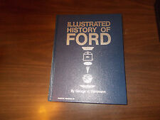 Illustrated History of Ford Crestline Hard-Cover BOOK /George Dammann /1971