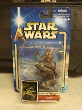 Star Wars Massif w/Geonosian Warrior Hasbro AOTC 2002 3.75 Action Figure