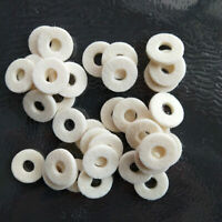 100 Pcs Wool Pads for Trumpet Valve /Brass Parts Accessories