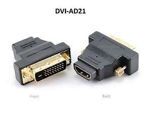 HDMI Female to DVI-D Male Video Converter Adapter, CablesOnline DVI-AD21