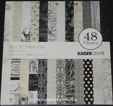 """Kaisercraft /'WORKSHOP/' 12x12/"""" Paper Pk Stickers Men/'s//Cogs//Bike KAISER 08//19"""